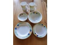 Brand New 20 piece melamine picnic set