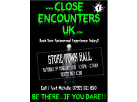 GHOST HUNT @ STOKE TOWN HALL, Saturday 3rd February, Just £30pp