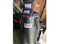 15kg boxing bag & gloves