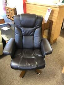 Leather Armchair * free furniture delivery *