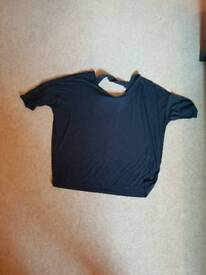 Black top next size 14