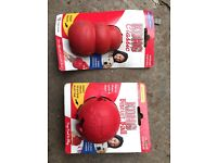 Dog Kong toys £10 for the pair