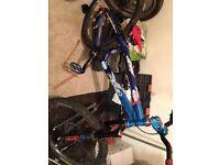 Custom jump bike mountain bike hope hubs