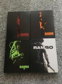 Rambo steelbook collection