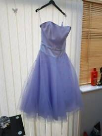 NEW lilac bridesmaid dress