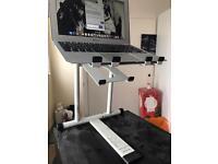 Crane white DJ metal laptop stand