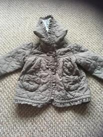 Baby girl coats and dresses
