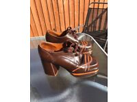 Vintage Gents Platform Shoes