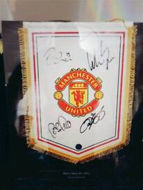 Signed Manchester United Pendant