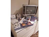 Dreamcast Boxed Bundle Large 6 controllers light gun 40+ games