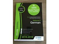 National5 German model papers 2015-2016 £4
