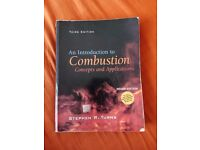 An Introduction to Combustion Concepts and Application; Truns; Third Edition (Indian); Mc Grow Hill