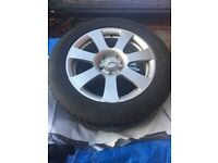 Mercedes ML Alloys and tyres