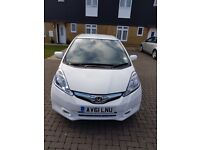 Honda Jazz 1.3 IMA hybrid Automatic 5door, white, excellent condition not civic,golf,a3