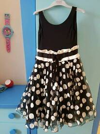 Monnalisa spa special occasion dress age 8