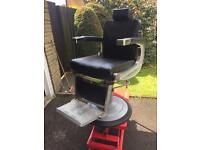 Belmont Apollo barbers chair with head rest