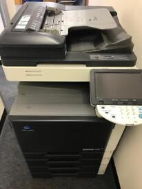 Konica Minolta Bizhub C220 Full Colour Laser Copier/Printer/Scanner/Fax/Used Condition
