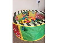 Early learning centre pop up ball pit