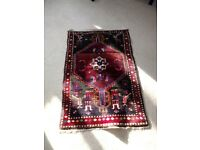 Persian red multi rug