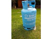 Blue Shell Butane Gas Bottle 13kg 50% Full