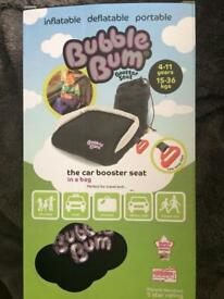 BNIB Bubble Bum Booster Seat