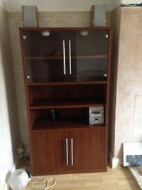 Brown Ikea Storeage Unit