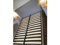 John Lewis EMILY Bed Frame / King Size. Pristine condition. Mattress not included