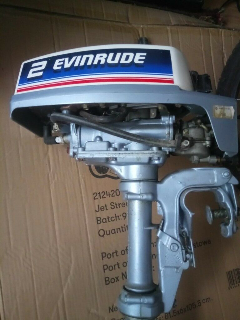 Outboard Motor - Evinrude 1981 vintage 2hp | in Kingston, London | Gumtree