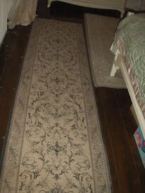 Laura Ashley French style Malmaison charcoal grey floor runner