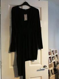 Black dress. Brand new. Boohoo