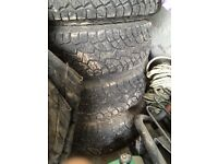 Discovery td5 wheels tyres