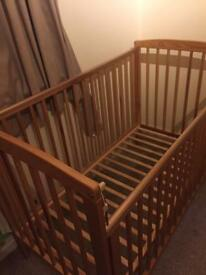 Baby Cot/ bed and mattress
