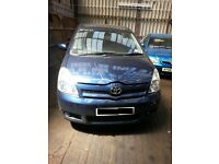 TOYOTA COROLLA VERSO 1.8 PETROL TR BREAKING 04-05-06-07-08 FOR SPARES 1X WHEEL NUT