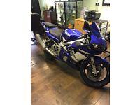 Yamaha r6 lovely bike