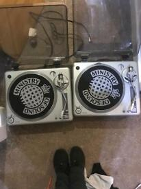 Decks mint condition not even a mark on them