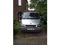 Silver Ford Transit SWB 2002 *Excellent Condition*
