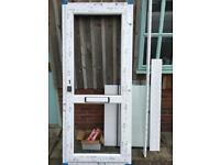 UPVC door 905mm x 2090mm