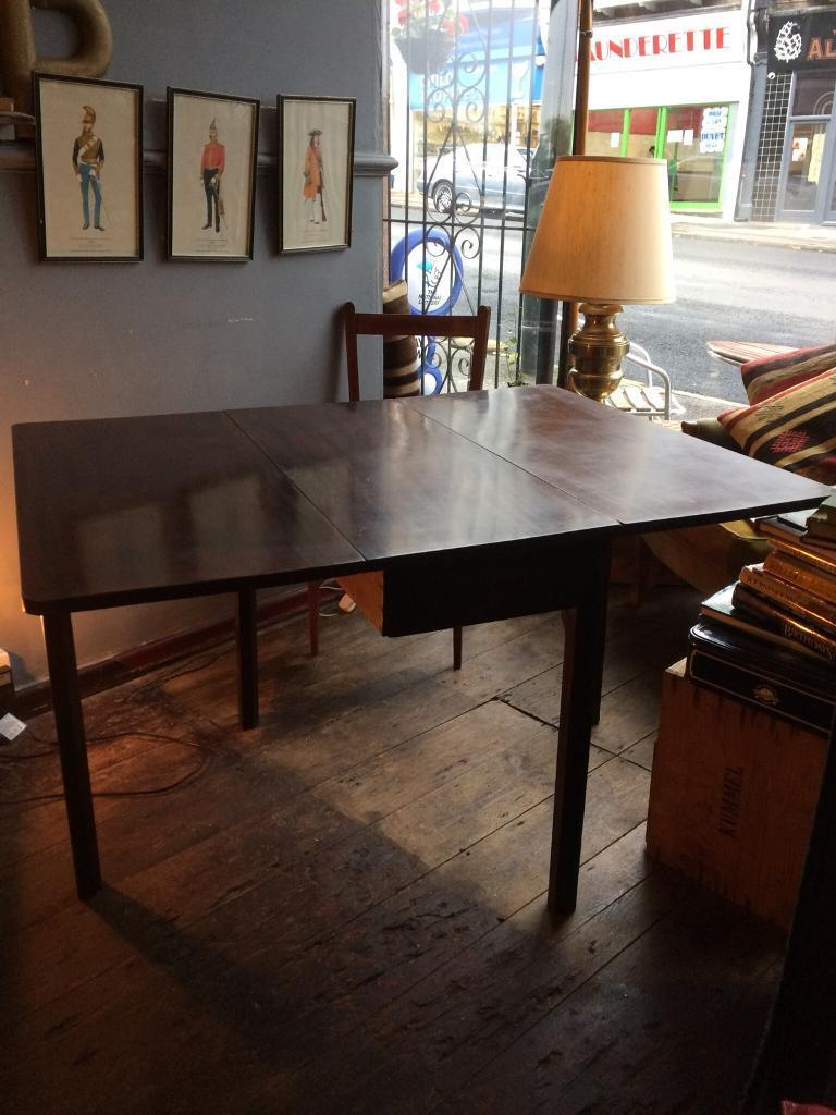 Georgian Table & 2 chairs