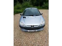 2003 Peugeot 206 1.4 Look 3dr
