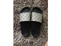 Gucci Sliders size 6 brand new