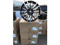 "4 22"" alloy wheels alloys rims tyre tyres land Range Rover Vw Volkswagen t5 t6"