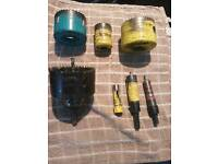 Starett cutters ×7 used vgc £20.00