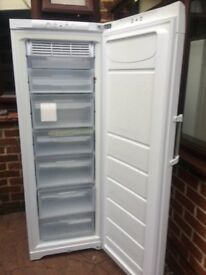 FROST FREE HOTPOINT FREEZER IN GOOD WOORKING CONDITION.