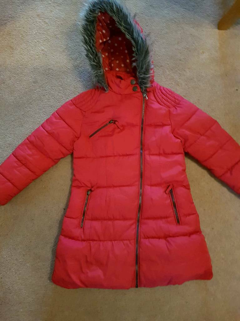 6e5e0c571e58 Girls Next Coat Age 7-8