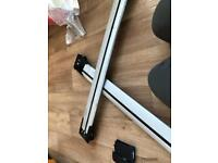 Whisperbar roof bars (pro rack)
