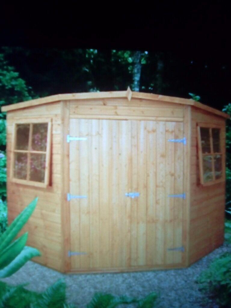Corner Garden Sheds 8x8 brilliant corner garden sheds 8x8 shed f and inspiration decorating