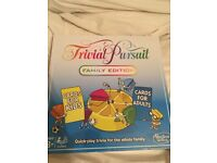 New Trivial pursuit family edition