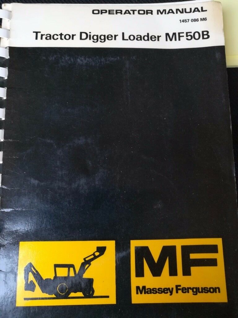 Operators manual Massey Ferguson MF50