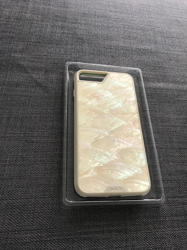 the best attitude 4fc1e 2bfc8 White Shell Mous Limitless 2.0 iPhone 8 Plus phone case + screen protector  | in Moseley, West Midlands | Gumtree