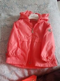 Moncler baby jacket